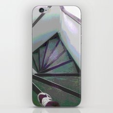 Footsteps on the stairs iPhone & iPod Skin