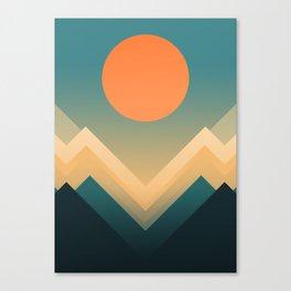 Inca Canvas Print