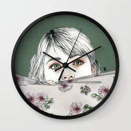 Pensieri sospesi III Wall Clock
