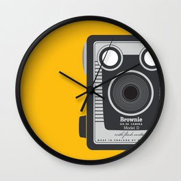 Vintage Kodak Brownie  Wall Clock