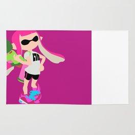 Inkling Girl (Pink) - Splatoon Rug