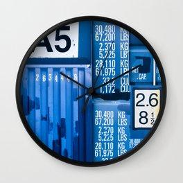 Shipping Bag pack Wall Clock