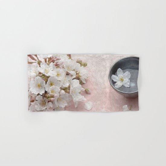 Cherry Blossom #7 Hand & Bath Towel