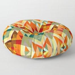 Abstract geometry Floor Pillow