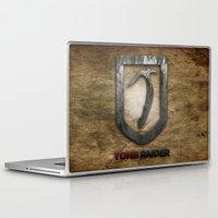 tomb raider Laptop & iPad Skins featuring Tomb Raider by Liquidsugar