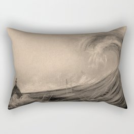 A feeling of isolation Rectangular Pillow