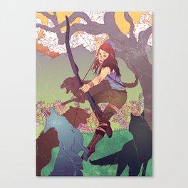 A Survivor is Born Canvas Print