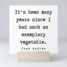 64   | Jane Austen Quotes | 190722 Mini Art Print