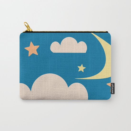 Moon light blue Carry-All Pouch