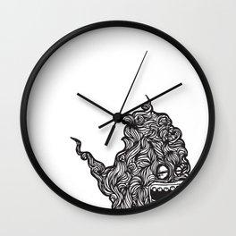 Hairy Smoke Bastard #1 Wall Clock
