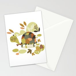 Mr. Turtle Stationery Cards