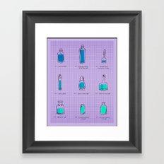 Love Potions Framed Art Print