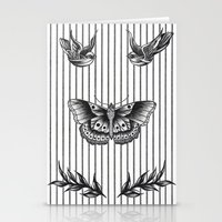 tattoos Stationery Cards featuring Harry's tattoos by Cécile Pellerin