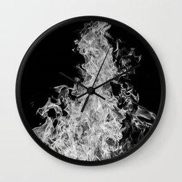 B&W Blaze Wall Clock