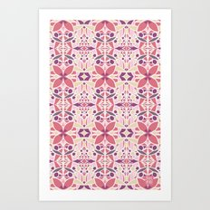 Petal Pusher Art Print