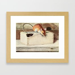 Fuertes, Louis Agassiz (1874-1927) - Burgess Animal Book for Children 1920 (Wood Mouse) Framed Art Print