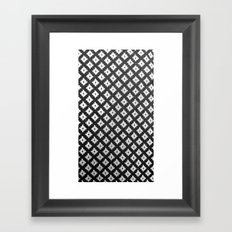Criss Cross Framed Art Print