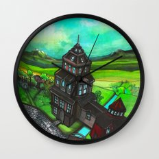 Terra Magica Wall Clock