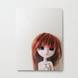 Pullip, Japanese Doll  Metal Print