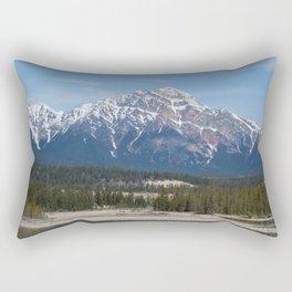Pyramid Mountain Rectangular Pillow