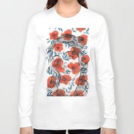 Botticelli girl Long Sleeve T-shirt