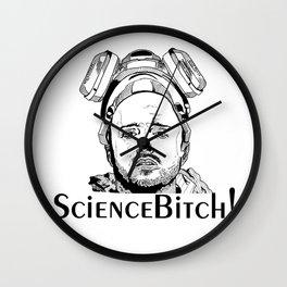 Jesse Pinkman - Aaron Paul - Science Bitch! - Breaking Bad - AMC  Wall Clock