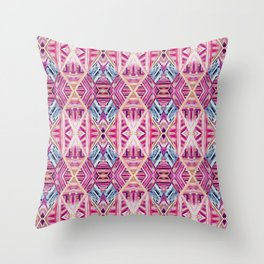 LINEA 019 Abstract Collage Throw Pillow