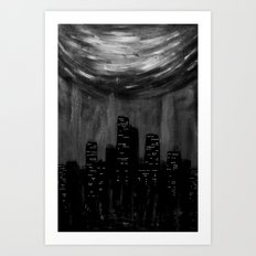 City Of Ashes Art Print