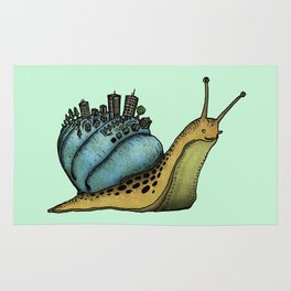 Snail City Rug