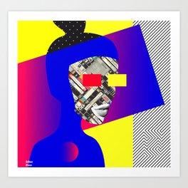 Space Portrait Art Print