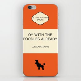 Oy with the poodles already iPhone Skin