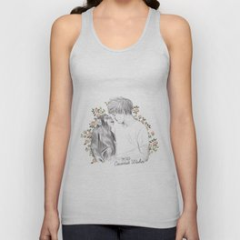 Louis and the chimp Unisex Tank Top