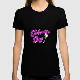 Cabana Boy Palm Tree Funny Pool Boy Vacation Cool Design Gift Design T-shirt
