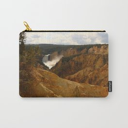 Thundering Waters Of The Yellowstone River Carry-All Pouch