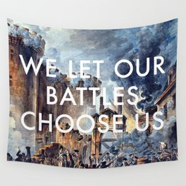 Glory of Storming the Bastille Wall Tapestry