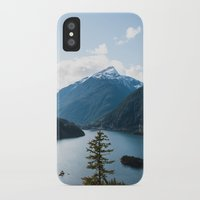 diablo iPhone & iPod Cases featuring Diablo Lake. by Eric-Bird