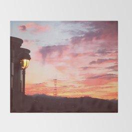 Potrero Sky Throw Blanket