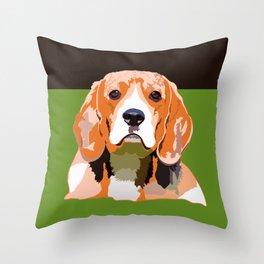 Petsy - Custom Pet Portraits Throw Pillow