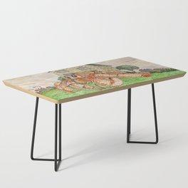 Hermit Apocalypse Coffee Table