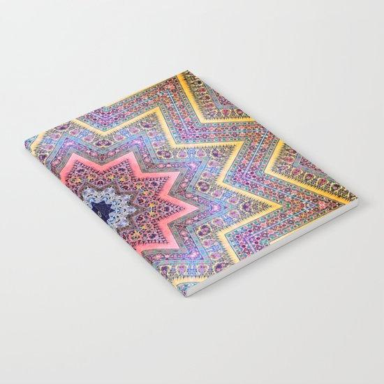 Mandala Faaa Raaa Oooon  Notebook