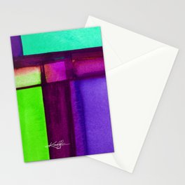 Color Block 4 by Kathy Morton Stanion Stationery Cards