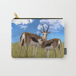 Grazing Gazelles Carry-All Pouch