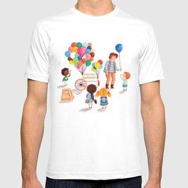 Balloon Stand T-shirt