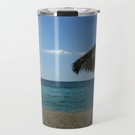 Caribean beach Travel Mug