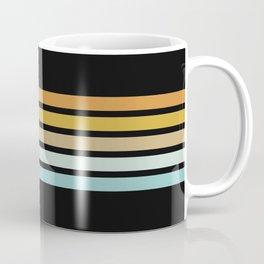 Retro Sunshine Stripes Coffee Mug