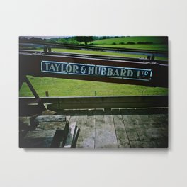 Breakdown Train, Kent & East Sussex Railway Metal Print