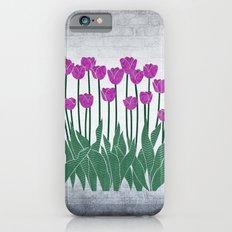 Magenta Tulips iPhone 6s Slim Case