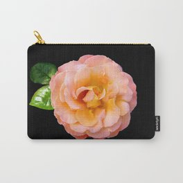 Orange ,Rosa Rose Carry-All Pouch