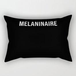Melaninaire Black Life Matters Rectangular Pillow