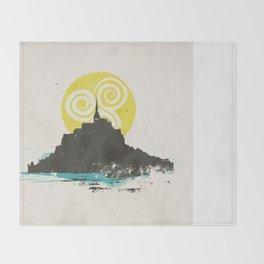 Le Mont Saint Michel (Saint Michael's Mount), Normandy, France Throw Blanket